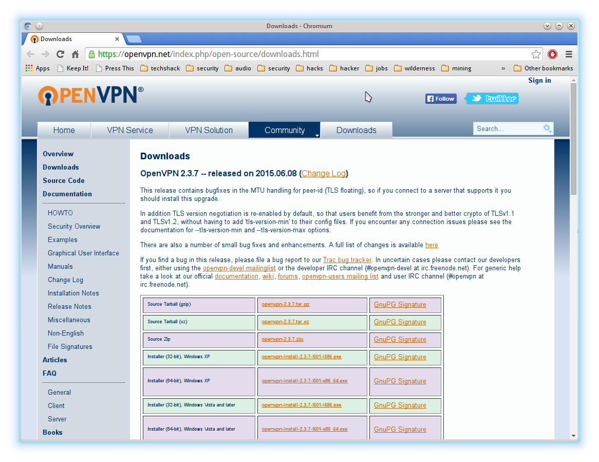OpenVPN Client Download
