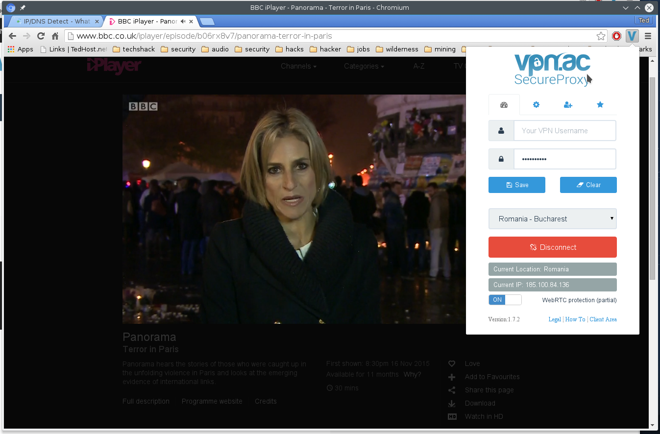 VPN.AC Proxy iPlayer