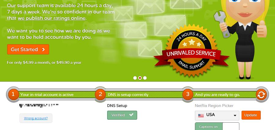 Unblock-Us Windows 7 set up