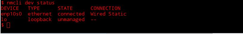 nmcli status