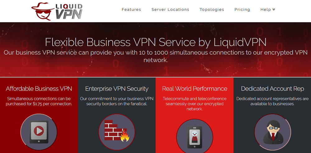 LiquidVPN for business