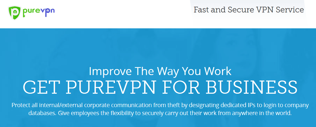 PureVPN for business