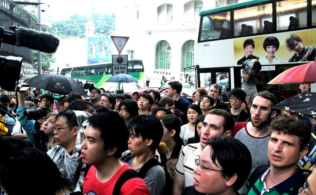 Hong Kong Edward Snowden