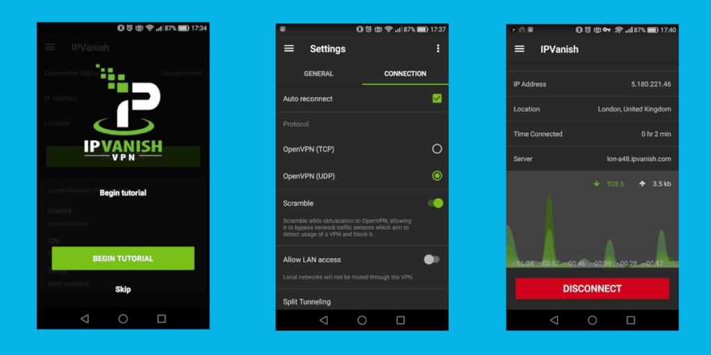 IPVanish Android