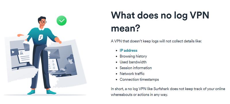 VPN no logs